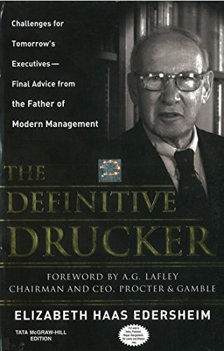 9780070659711: The Definitive Drucker: Challenges For Tomorrow's Executives -- Final Advice From the Father of Modern Management