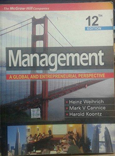 9780070660199: Management a Global & Entrepreneurial Pe