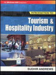 Introduction To Tourism And Hospitality Industry: Andrews Sudhir