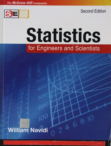9780070660830: Statistics for Engineers and Scientists 2nd (softcover international edition)