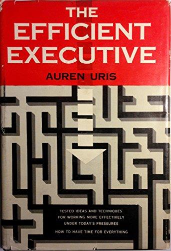 9780070661073: Efficient Executive, The