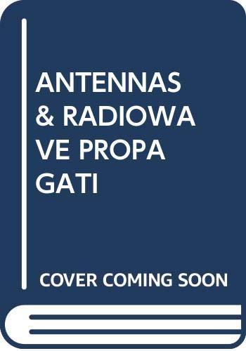 9780070661561: Antennas and Radio Wave Propagation