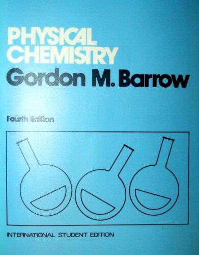 9780070661707: Physical Chemistry
