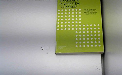 9780070661899: Management in Marketing Channels
