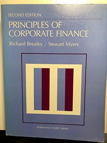 9780070662025: Principles of Corporate Finance