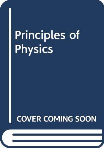 9780070662056: Principles of physics