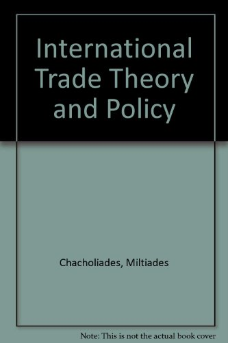 9780070662162: International Trade Theory and Policy