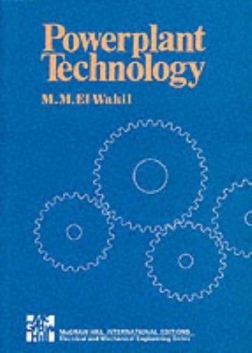 Powerplant Technology (Paperback): M. M. El-Wakil