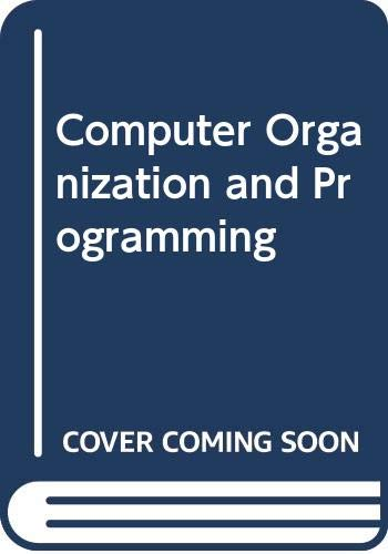 9780070662964: Computer Organization and Programming