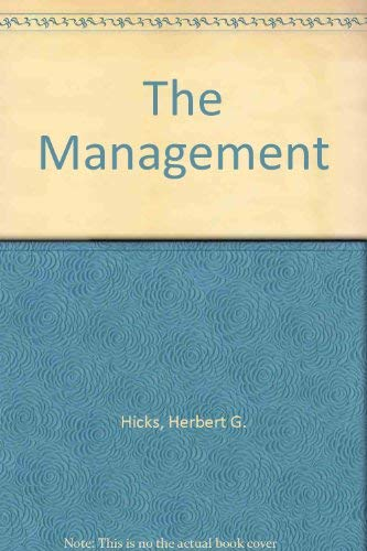 9780070663282: The Management
