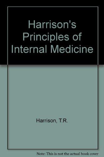 9780070663510: Harrison's Principles of Internal Medicine