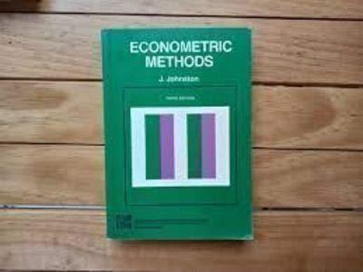 9780070663572: Econometric Methods