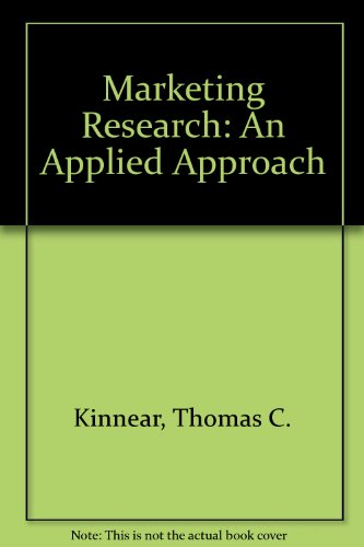 9780070663749: Marketing Research: An Applied Approach (Marketing)