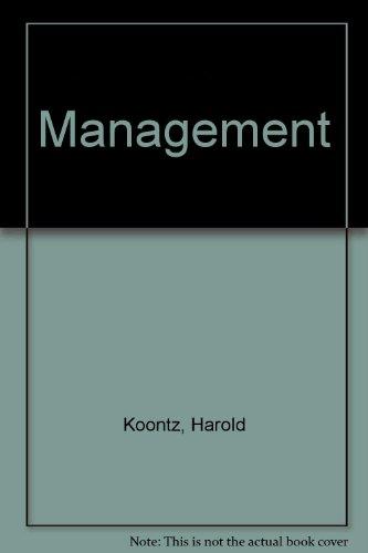 Management: Harold Koontz, Cyril