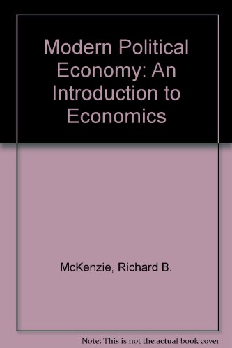 9780070664029: Modern Political Economy: An Introduction to Economics
