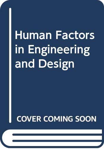 9780070664098: Human Factors in Engineering and Design