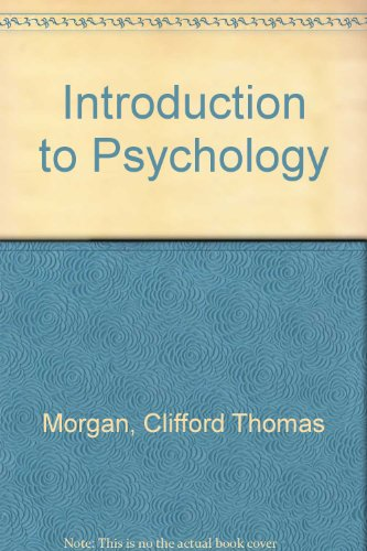 Introduction To Psychology Morgan King Ebook