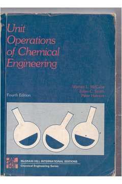 9780070664319: Unit Operations of Chemical Engineering