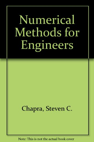 9780070664371: Numerical Methods for Engineers