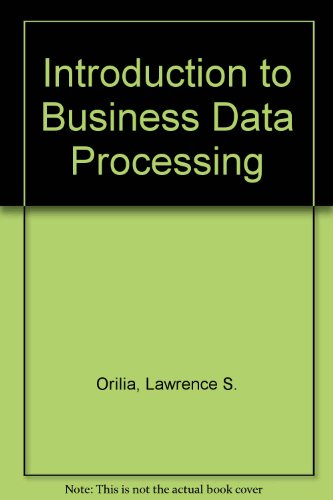 9780070664630: Introduction to Business Data Processing