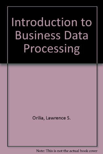 9780070664647: Introduction to Business Data Processing