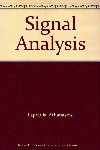 9780070664685: Signal Analysis