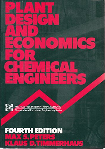 9780070664739: Plant Design and Economics for Chemical Engineers (McGraw-Hill chemical engineering series)