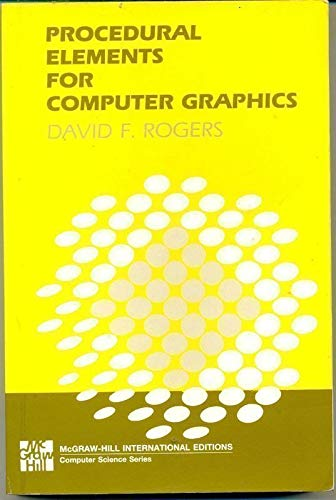 9780070665033: Procedural Elements for Computer Graphics (PBK)