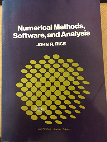 9780070665071: Numerical Methods, Software and Analysis