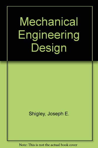 9780070665620: Mechanical Engineering Design