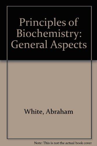 9780070665705: PRINS OF BIOCHEMISTRY:GEN ASPE