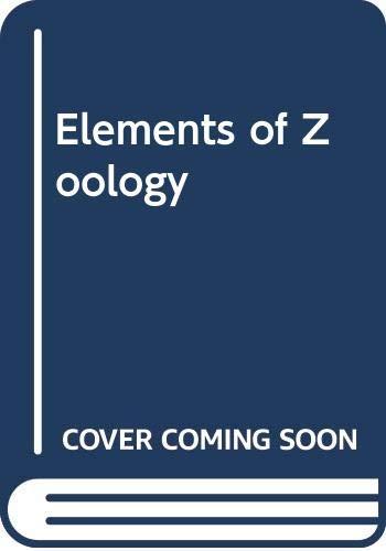 9780070665903: 4e Elements of Zoology Ise