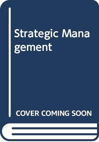9780070665972: Strategic Management