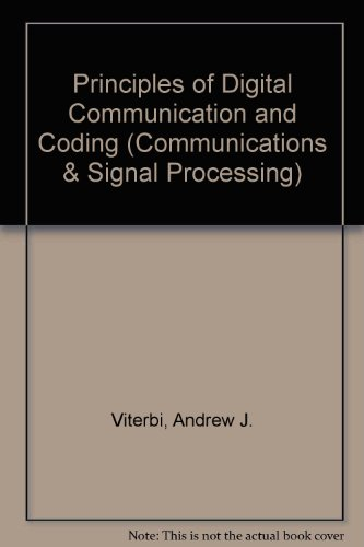 9780070666269: Principles of Digital Communication and Coding (Communications & Signal Processing)