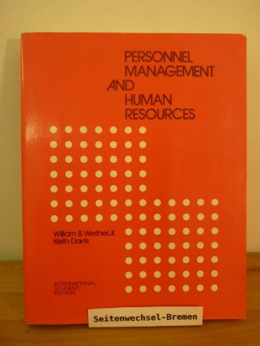 9780070666306: Personnel Management and Human Resources (Management)