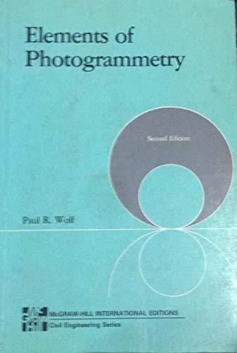 9780070666375: Elements of Photogrammetry