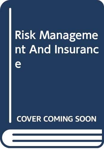 9780070666467: Risk Management and Insurance