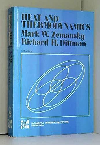 9780070666474: HEAT AND THERMODYNAMICS. An intermediate textbook, 6th edition, Edition en anglais