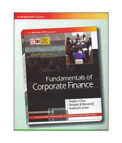 9780070667020: Fundamentals of Corporate Finance
