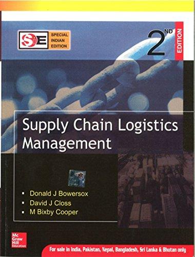9780070667037 Supply Chain Logistics Management Abebooks Donald
