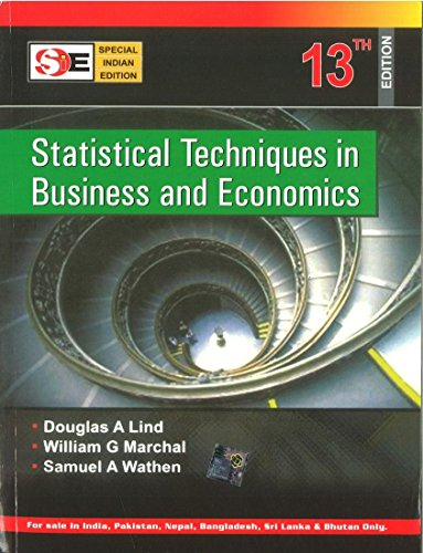 9780070667075: Statistical Techniques in Business and Economics - 13th Edition