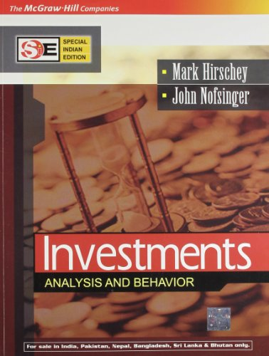 Investments: Analysis and Behavior (SIE): John Nofsinger,Mark Hirschey