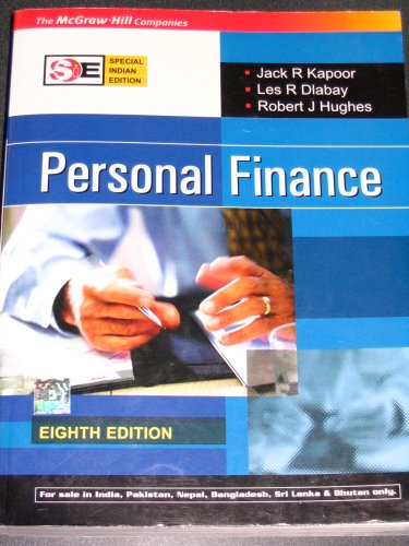 Personal Finance: 8th Edition (Special Indian Edition): Les Dlabay &