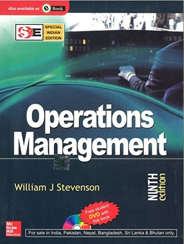 9780070668218: Operations Management With Student DVD (Special Indian Edition)