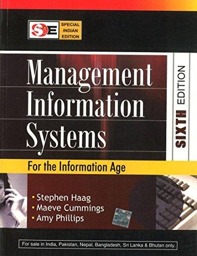 9780070668362: Management Information Systems (SIE)