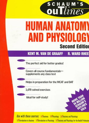 9780070668874: Schaum's Outline of Human Anatomy and Physiology (Schaum's Outline Series)