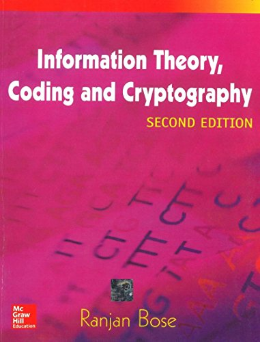 9780070669017: INFORMATION THEORY, CODING AND CRYPTOGRAPHY