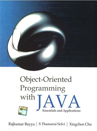 Object Oriented Programming with JAVA: Raj Buyya