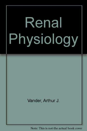 9780070669574: Renal physiology