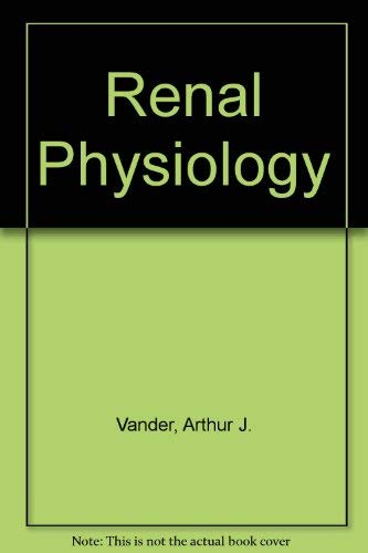9780070669598: Renal physiology